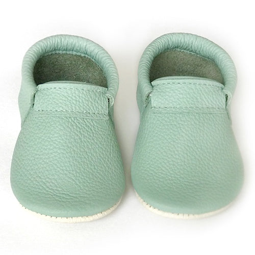 Mint Loafer Mocs