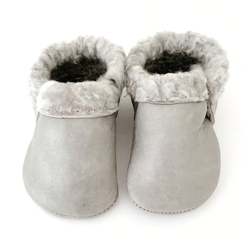 Silver Fox Cozy Mocs