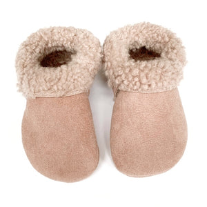 Dusty Rose Cozy Mocs