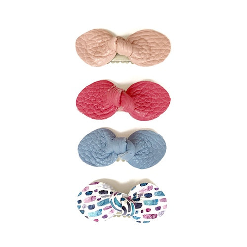 Spring Bow 4-Packs (Pinks)