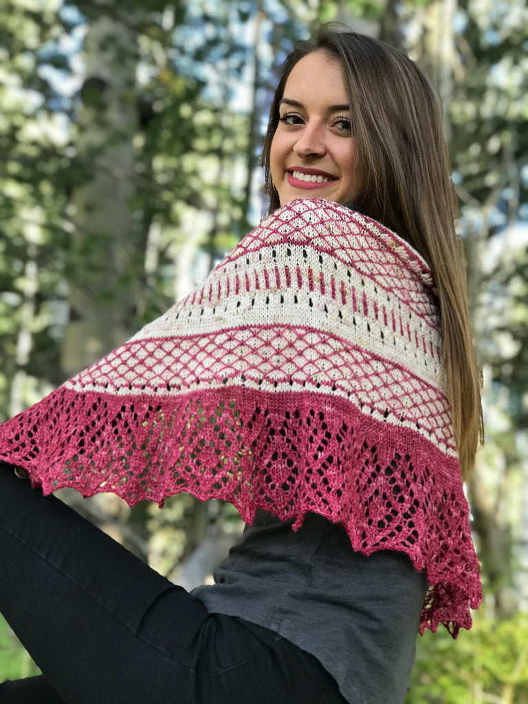 Sweet Logan Shawl Kits