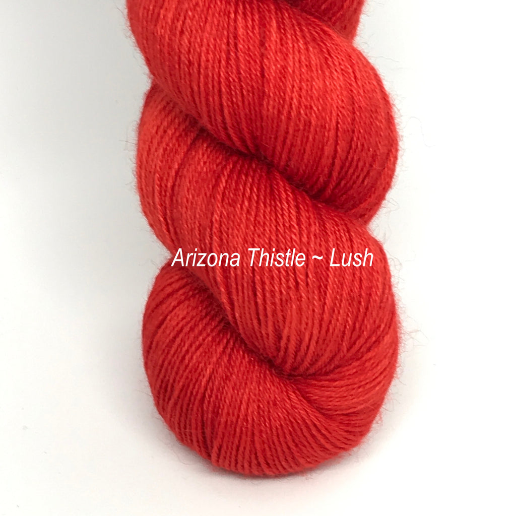 Arizona Thistle - Lush Fingering*