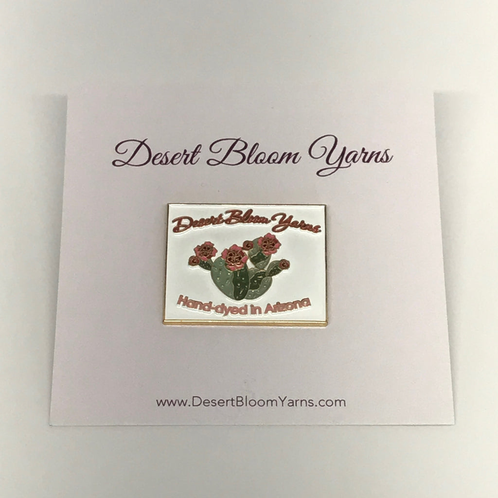 Desert Bloom Yarns Enamel pin