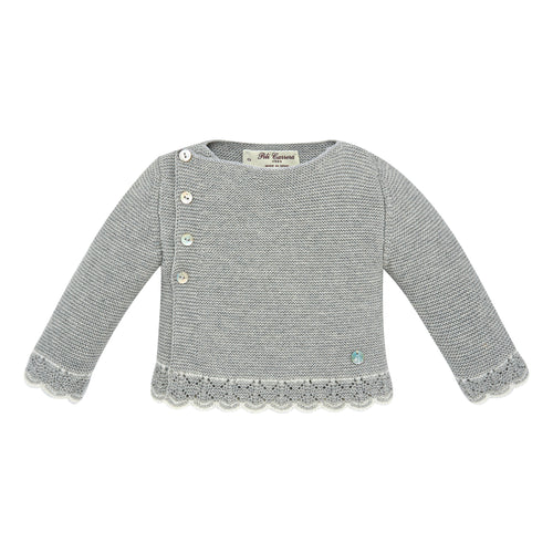 Light Gray Baby Sweater