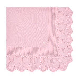 Pink Ornate Blanket