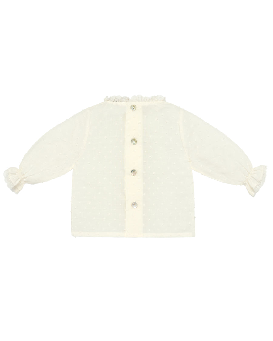 Ivory Baby Blouse
