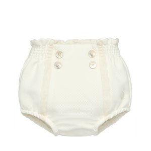 Ivory Lace Diaper Cover