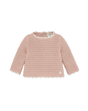 Blush Baby Sweater