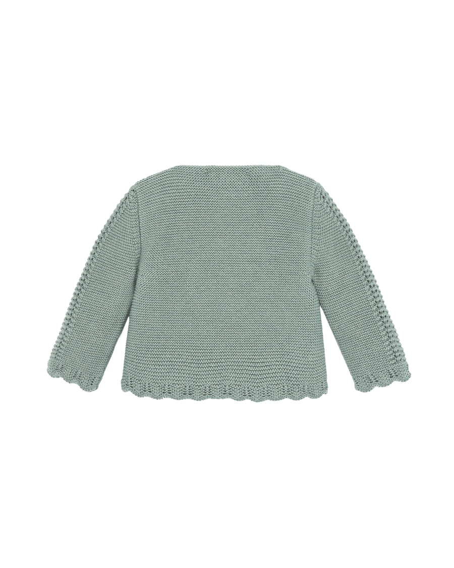 Sage Green Baby Sweater