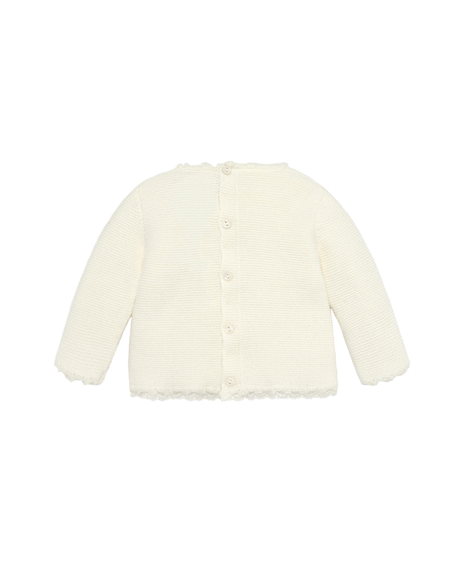 Ivory Baby Sweater