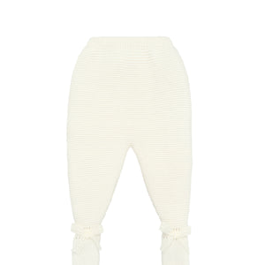 Ivory Baby Knit Leggings