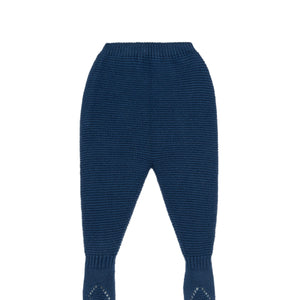Navy Baby Knit Leggings
