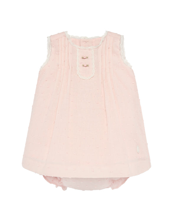 Pink Piquet Dress