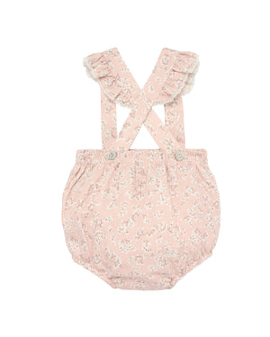 Blush Floral Diaper Cover