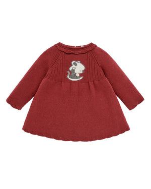 Little Mouse Knit Dress