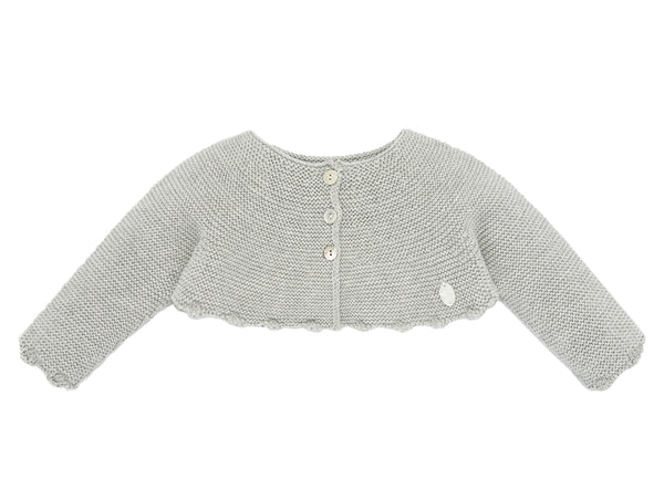Gray Bolero Sweater