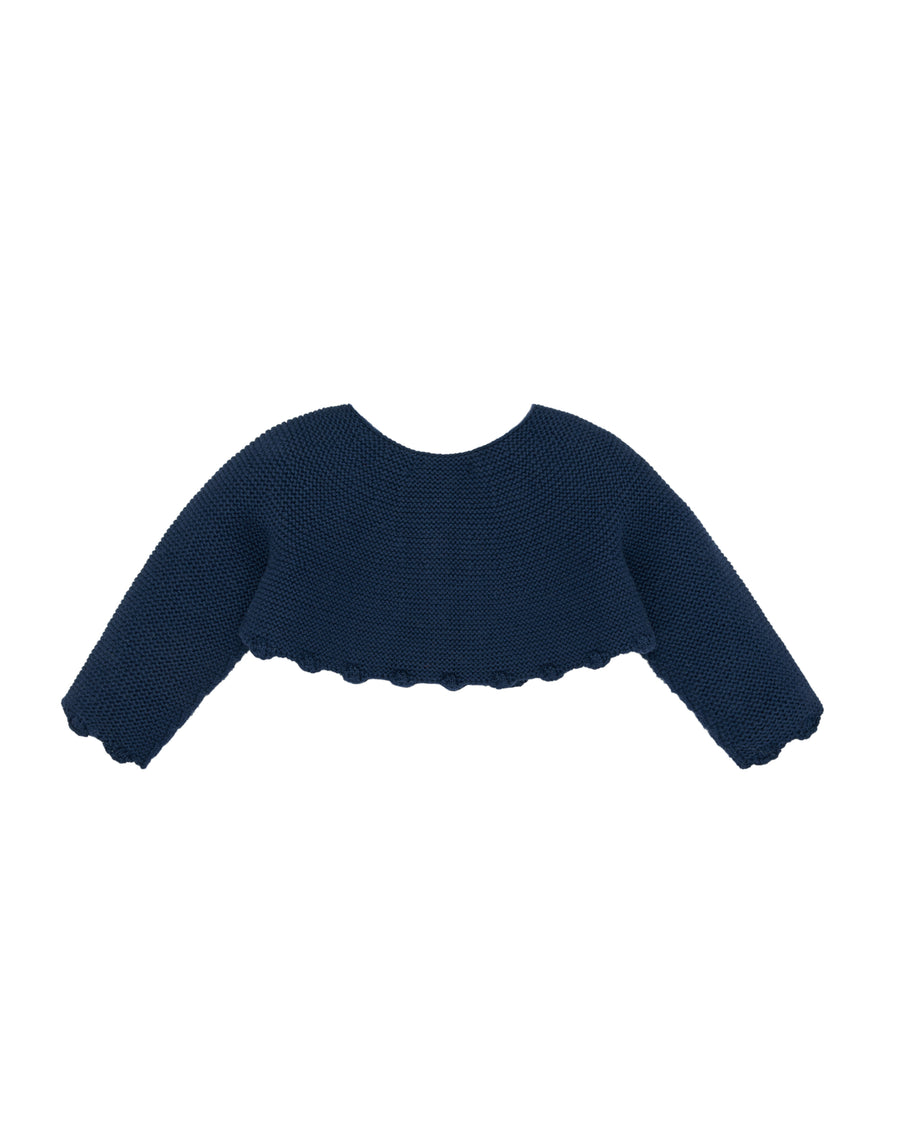Dark Navy Bolero Cardigan