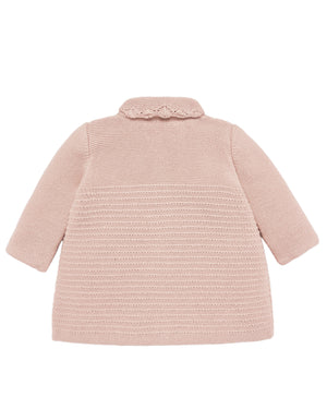 Blush Knit Coat