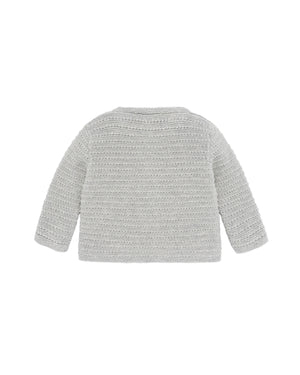 Knit Gray Cardigan