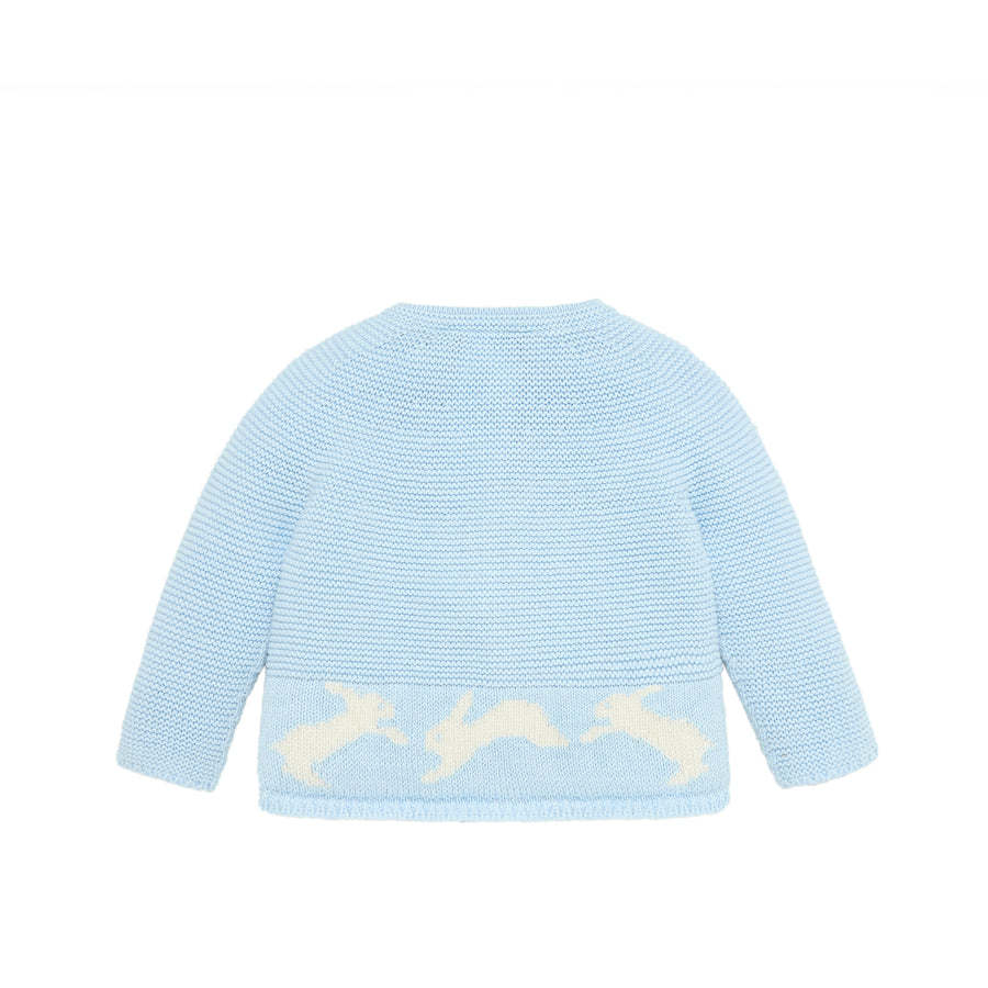 Bunny Blue Knit Sweater