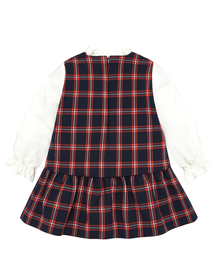 Jumper Plaid Dress