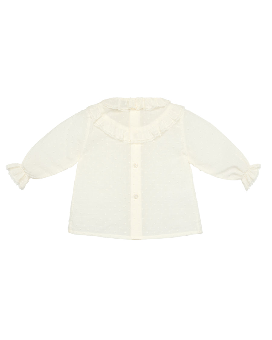 Ruffled Baby Blouse