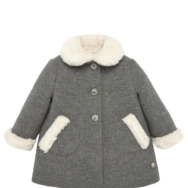 Toddler Gray Winter Coat