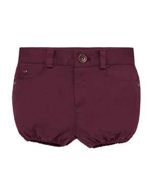 Burgundy Shirt Trousers