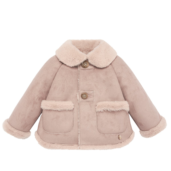 Shearling Pink Jacket