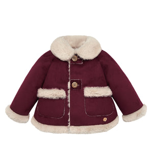 Shearling Burgundy Jacket