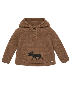 Moose Hooded Sweater