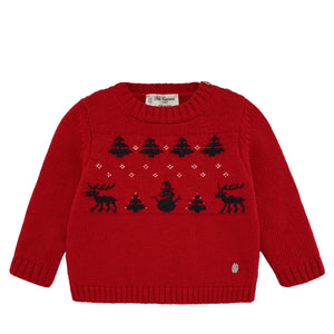 Reindeer Holiday Sweater