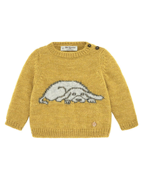 Hound Dog Knit Sweater
