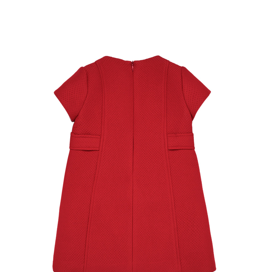 Holiday Red Shift Dress