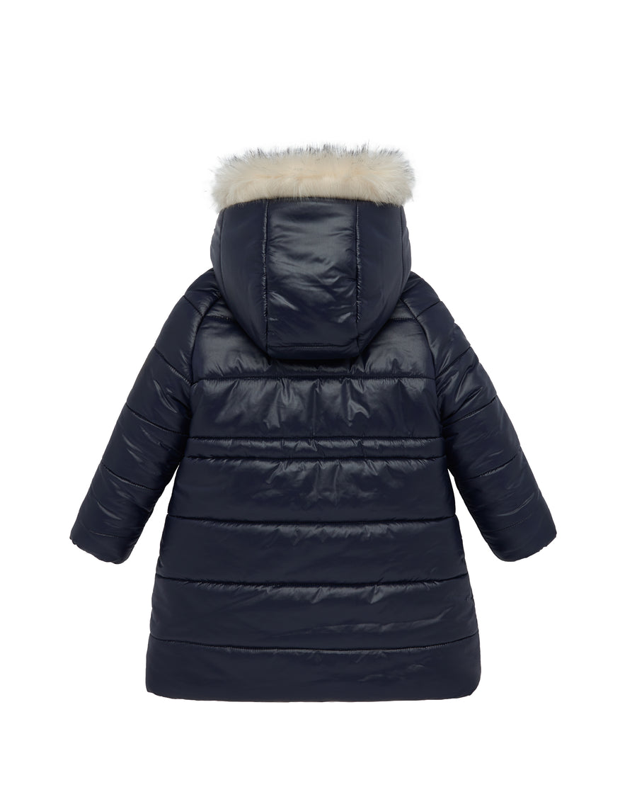 Navy Winter Parka