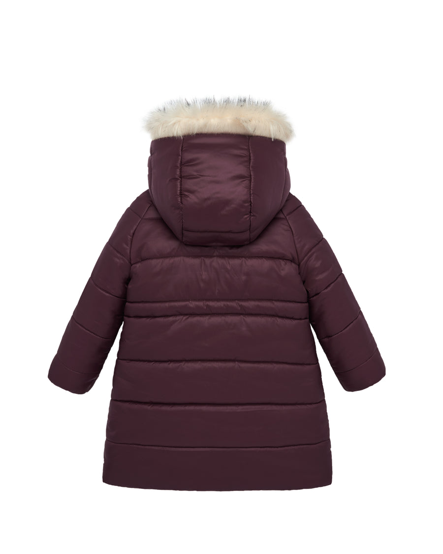 Burgundy Winter Parka