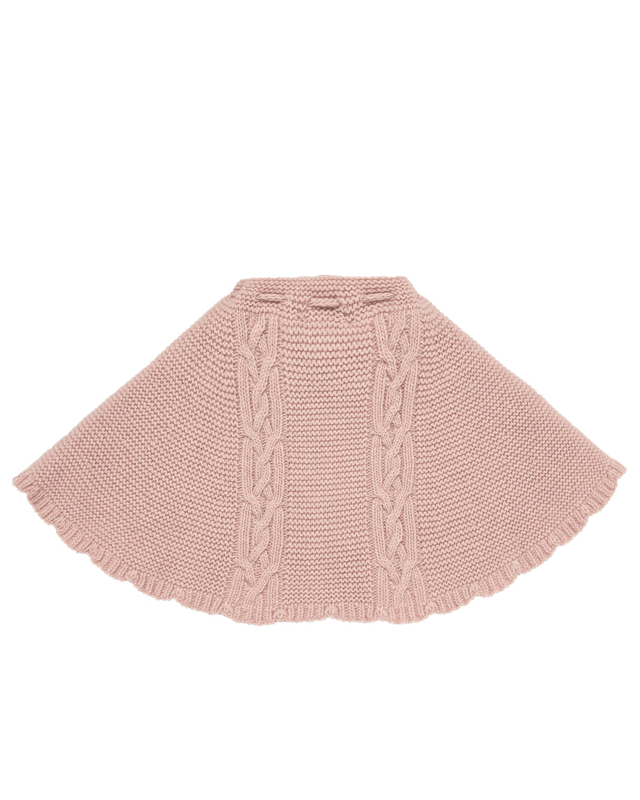 Knit Blush Cape