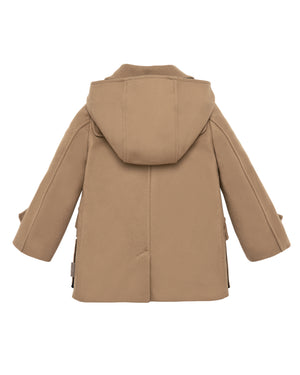 Hooded Tan Coat