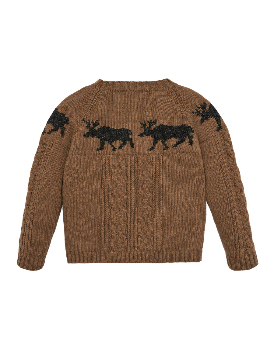 Moose Cable Knit Sweater