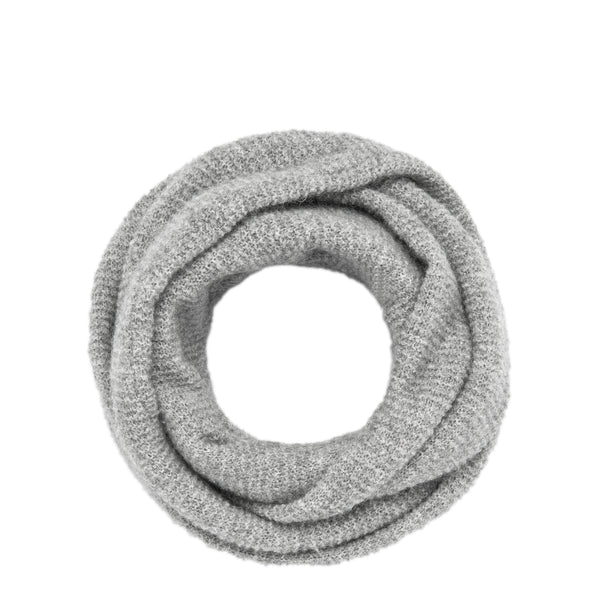 Cowl Gray Scarf