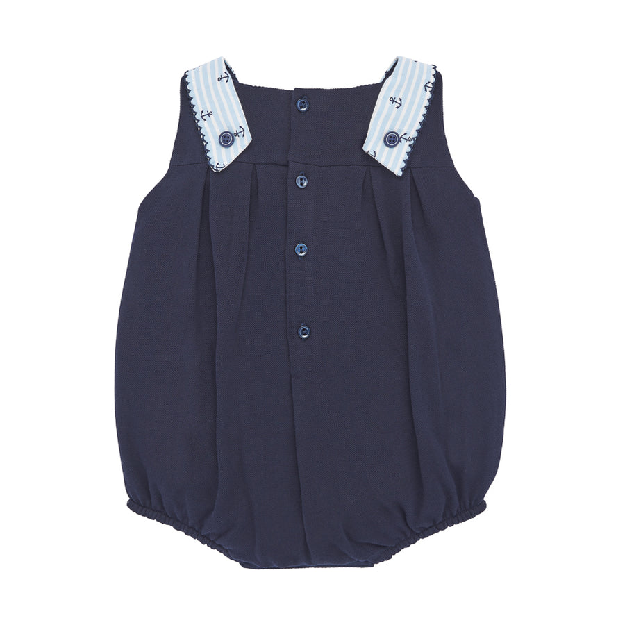 Navy Sailor Romper