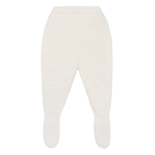 Ivory Baby Leggings