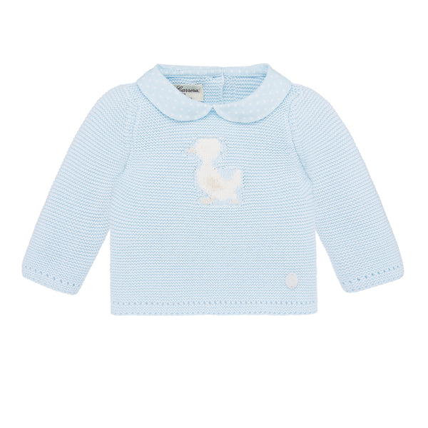 Duckling Baby Sweater