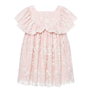 Lace Flutter Dress