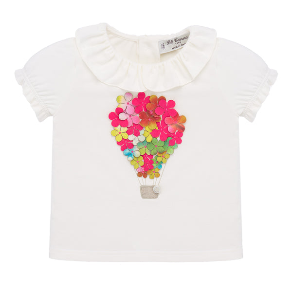 Hot Air Flower Balloon Blouse
