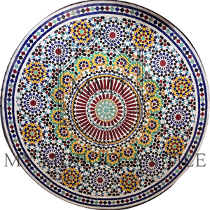 50 Fold Square Moroccan Mosaic Table Top 50119