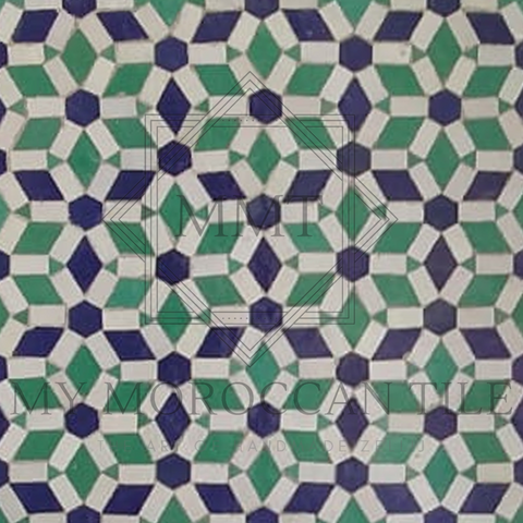 Hexa Diamond Mosaic Tile