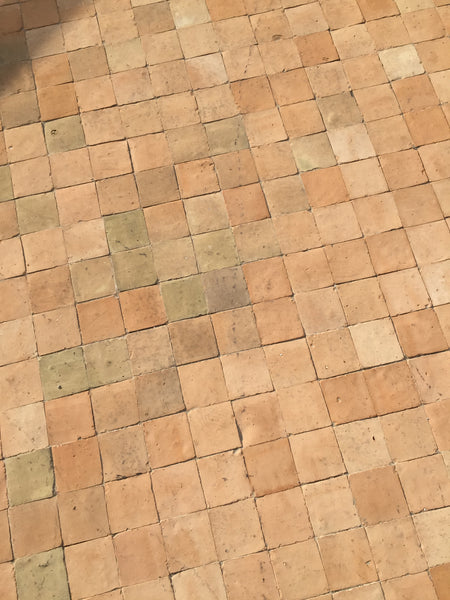 Markab 4 x 4 Moroccan Terracotta Pavers