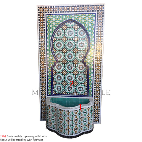 Mosaic Fountain 1882T