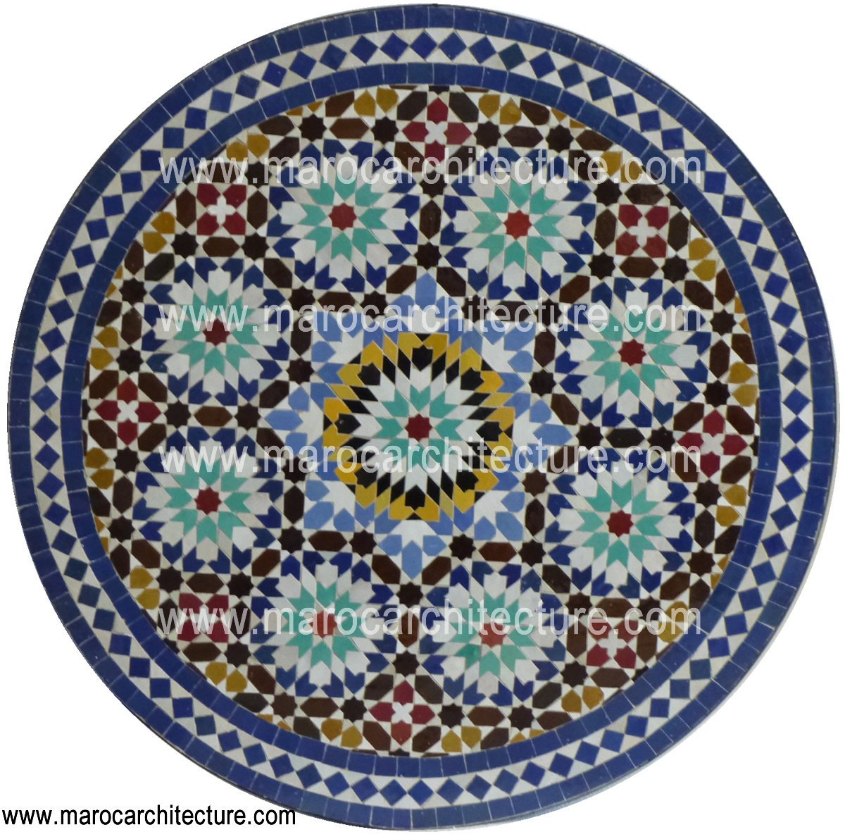 MOROCCAN MOSAIC TABLE 1906